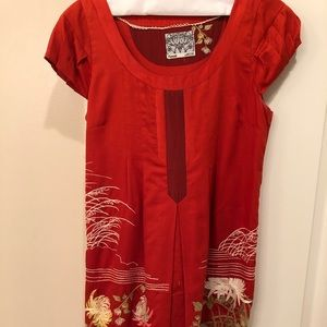 Gorgeous Detail Embroidered Shift Dress